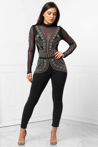 RESTOCK!! Nicki Jumpsuit Black - Fashion Effect Store  - 1