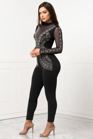RESTOCK!! Nicki Jumpsuit Black - Fashion Effect Store  - 2