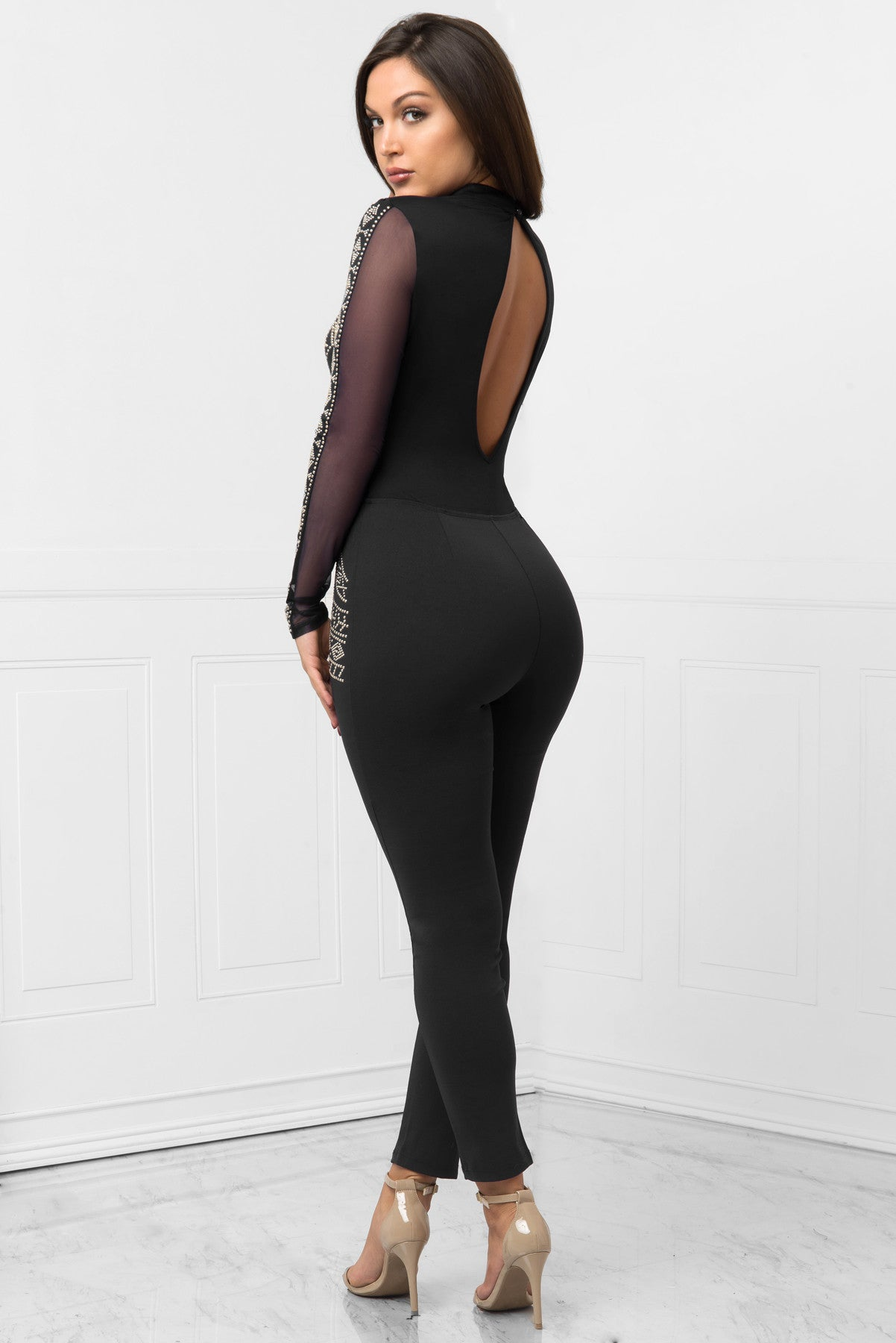 RESTOCK!! Nicki Jumpsuit Black - Fashion Effect Store  - 3