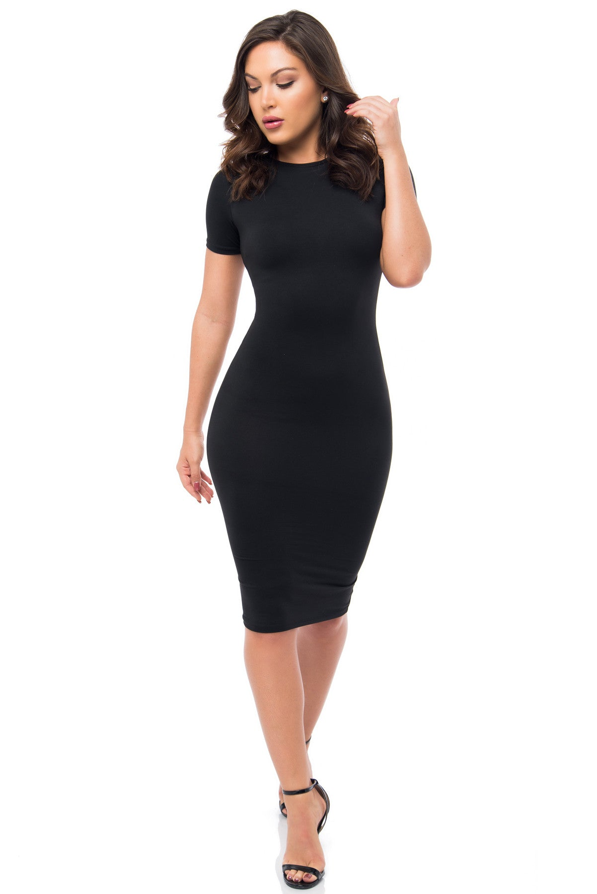 You Belong To Me Black Dress - Fashion Effect Store  - 1