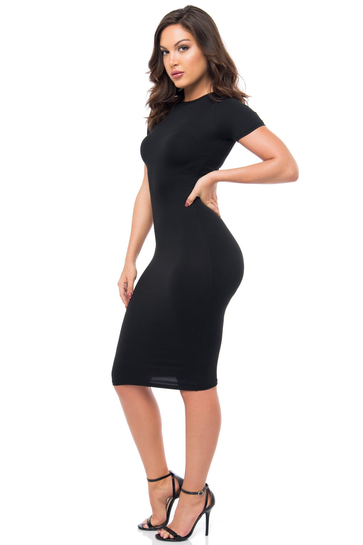 You Belong To Me Black Dress - Fashion Effect Store  - 3