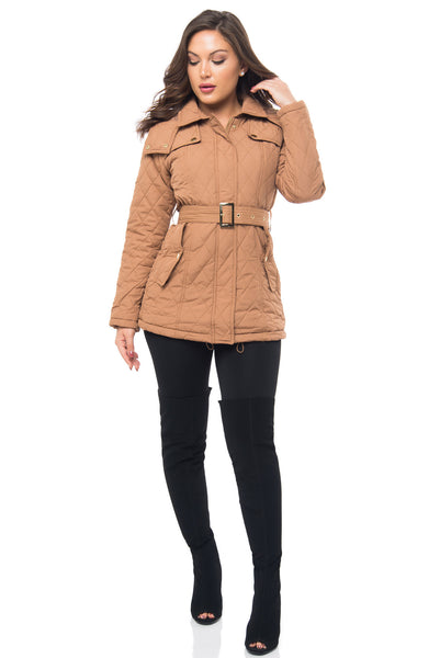 It's Getting Cold Taupe Jacket - Fashion Effect Store  - 1