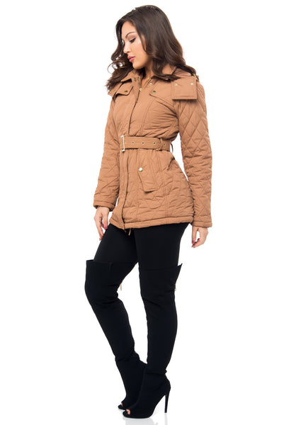It's Getting Cold Taupe Jacket - Fashion Effect Store  - 2