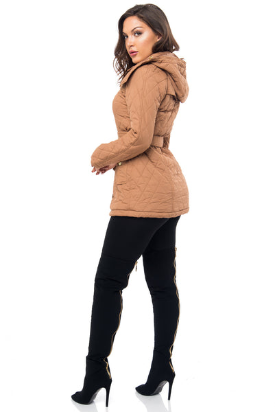 It's Getting Cold Taupe Jacket - Fashion Effect Store  - 3