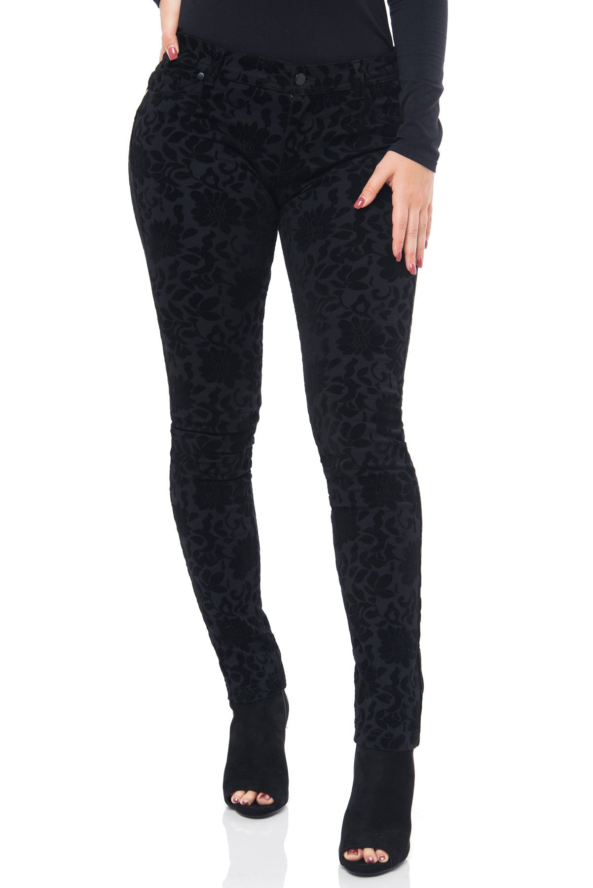 Fey Black Pants - Fashion Effect Store  - 2