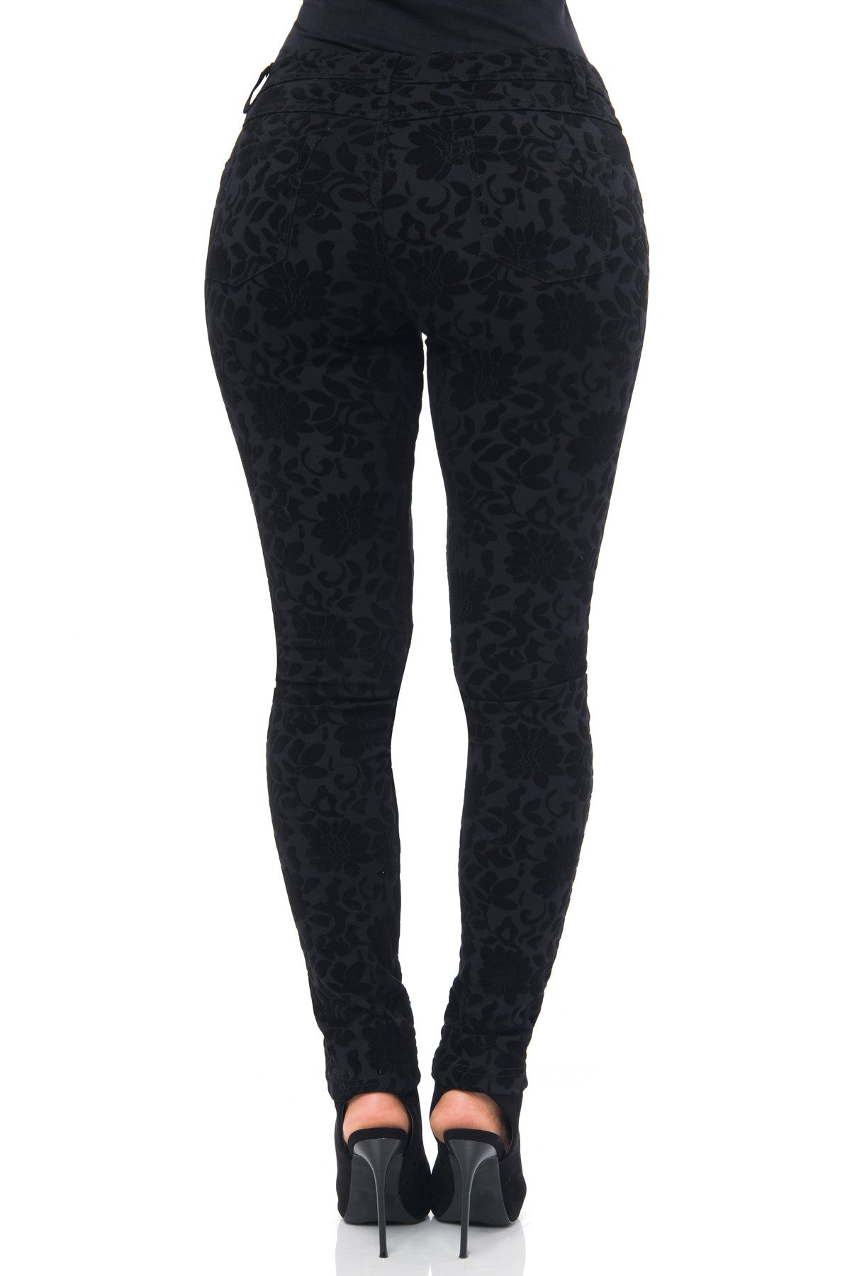 Fey Black Pants - Fashion Effect Store  - 3
