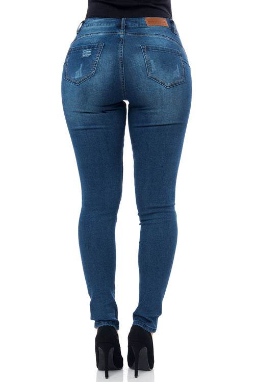 Milena-Butt Lifter Jeans - Fashion Effect Store  - 2