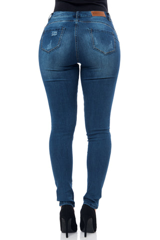 Butt Lifter Jeans- Milena - Fashion Effect Store  - 2