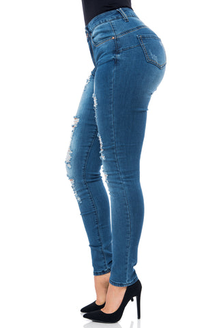 Butt Lifter Jeans- Annabelle - Fashion Effect Store  - 2