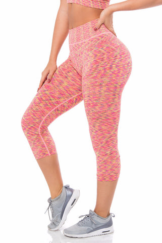 Sports Tights Pink - Fashion Effect Store  - 1
