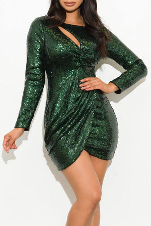 Mia Sequin Green