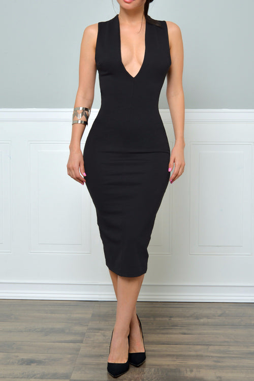 RESTOCK  Love At First Sight  Black Dress - Fashion Effect Store  - 1