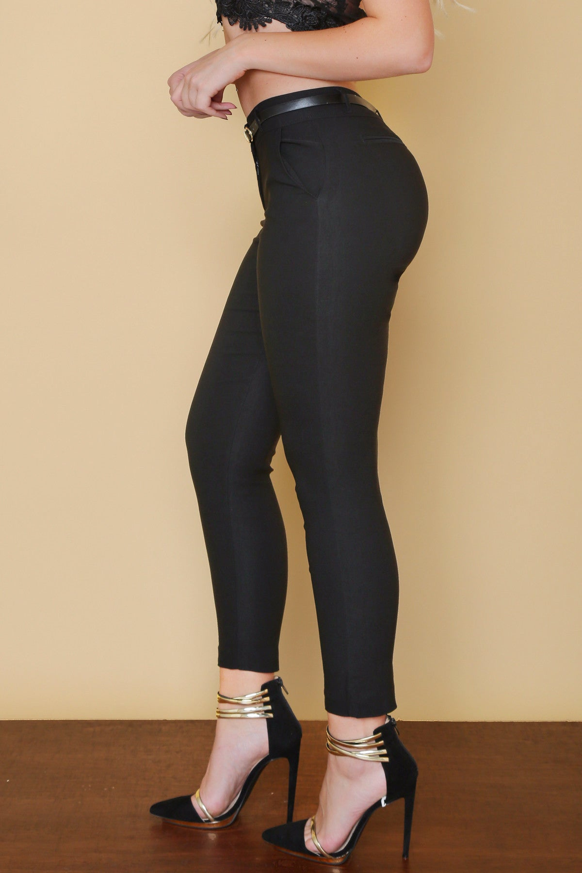 RESTOCK Get Down To Business Pants BLACK - Fashion Effect Store  - 3