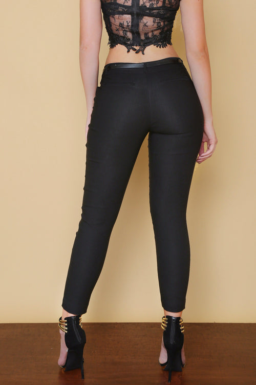 Get Down To Business Pants BLACK - RESTOCKED - Fashion Effect Store  - 2