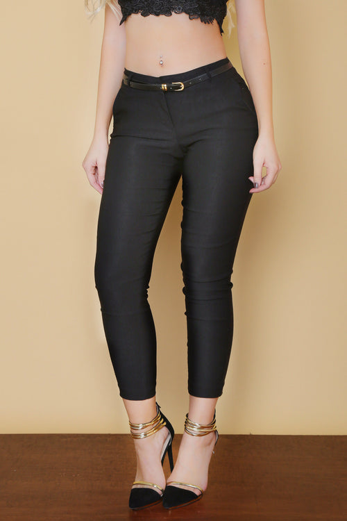Get Down To Business Pants BLACK - RESTOCKED - Fashion Effect Store  - 1