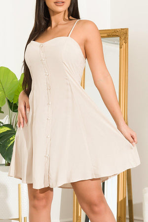 Andy Dress Ivory - Fashion Effect Store
