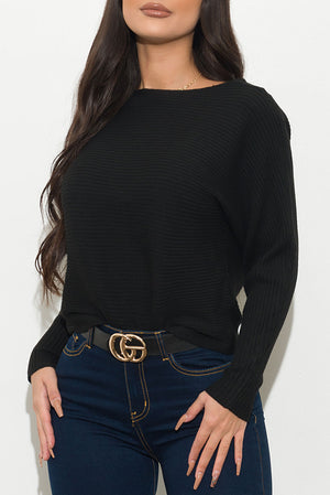 Valence Sweater Black