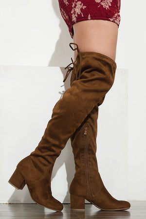 High Standards Boots Brown