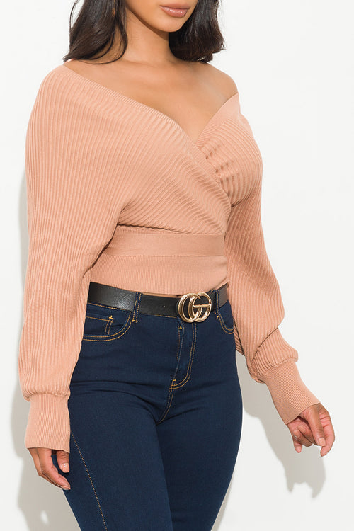 Sabine Top Peachy Pink