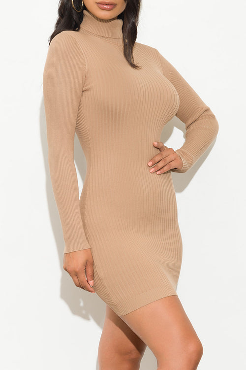 Over The Top Dress Khaki