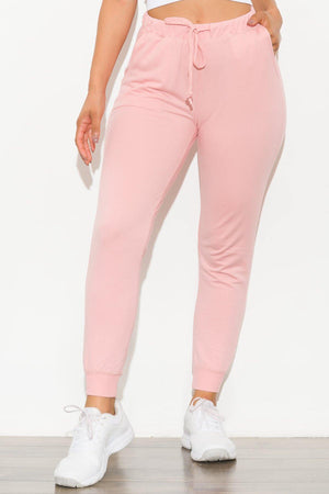 Keep It Going Jogger Blush Pink