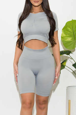 Sports Luxe Set Light Gray