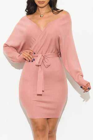 Chase The Dream Dress Mauve