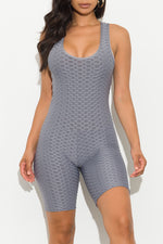 Best Of Me Anti-cellulite Romper Grey