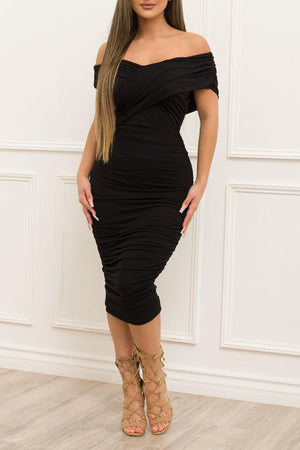 Alissa Dress Black - Fashion Effect Store