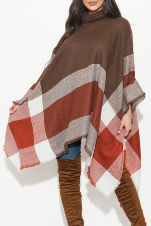 One Of A Kind  Poncho Caramel