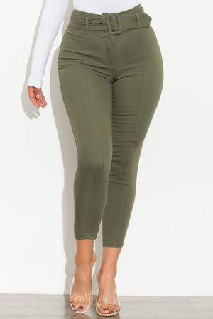 Most Wanted Pants Olive