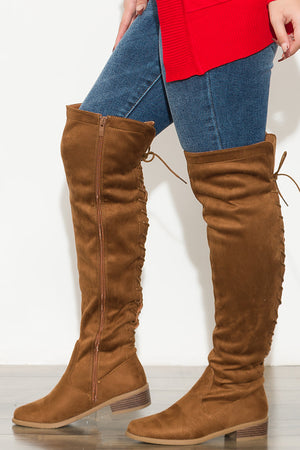 Forever Together Boots Brown