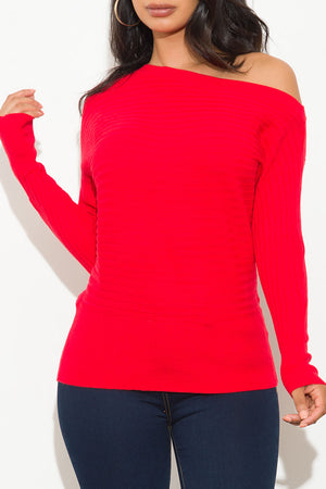 Piper Sweater Red