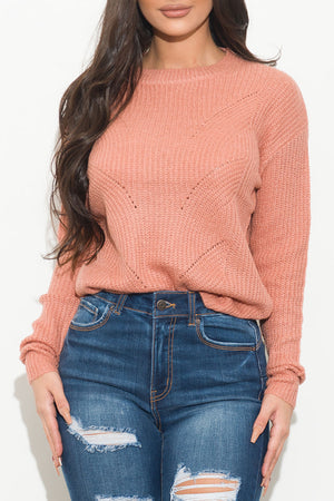 Aly Sweater Pink