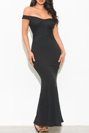 Perfect Dream Dress Black