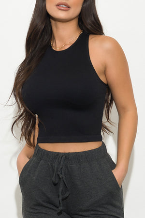 Now And Later Top Black
