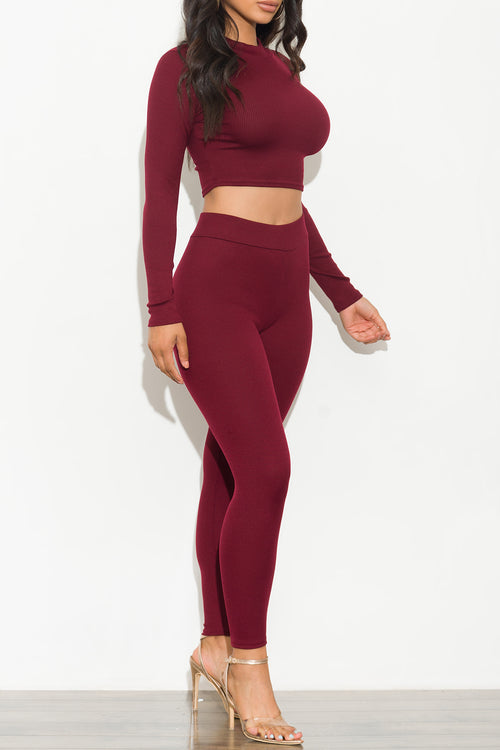 Karissa Set Burgundy