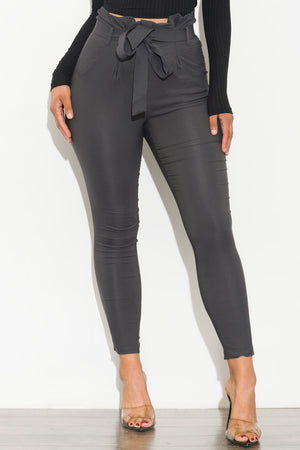 Keep It Moving Pants Charcoal Gray