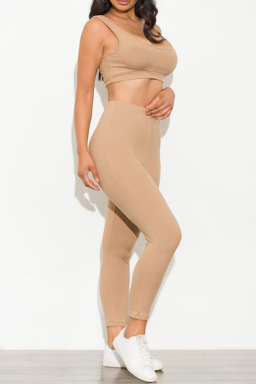 Irresistible Set Khaki