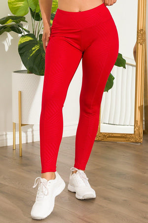 Adelle Leggings Red
