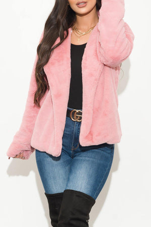 Winter Vibes Jacket Pink