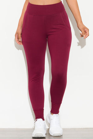 Bring It On Jogger Burgundy