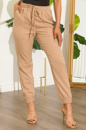 Holding You Back  Jogger Khaki