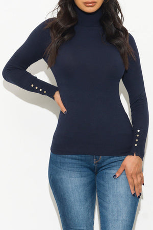 Everything You Want Sweater Navy