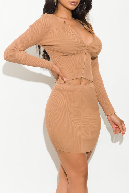 Monica Set Khaki