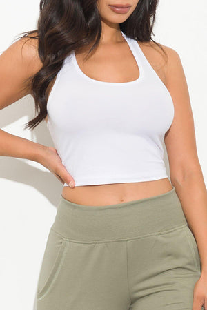Melly Top White