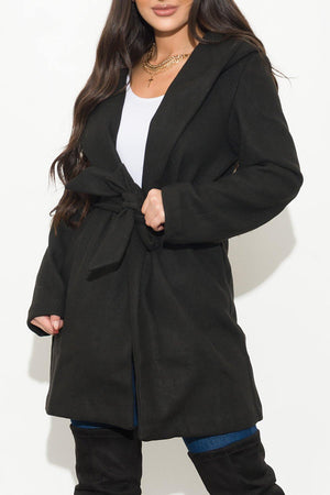 My Comfy And Classy Coat Black