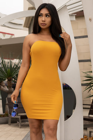 Valentina Dress - Yellow