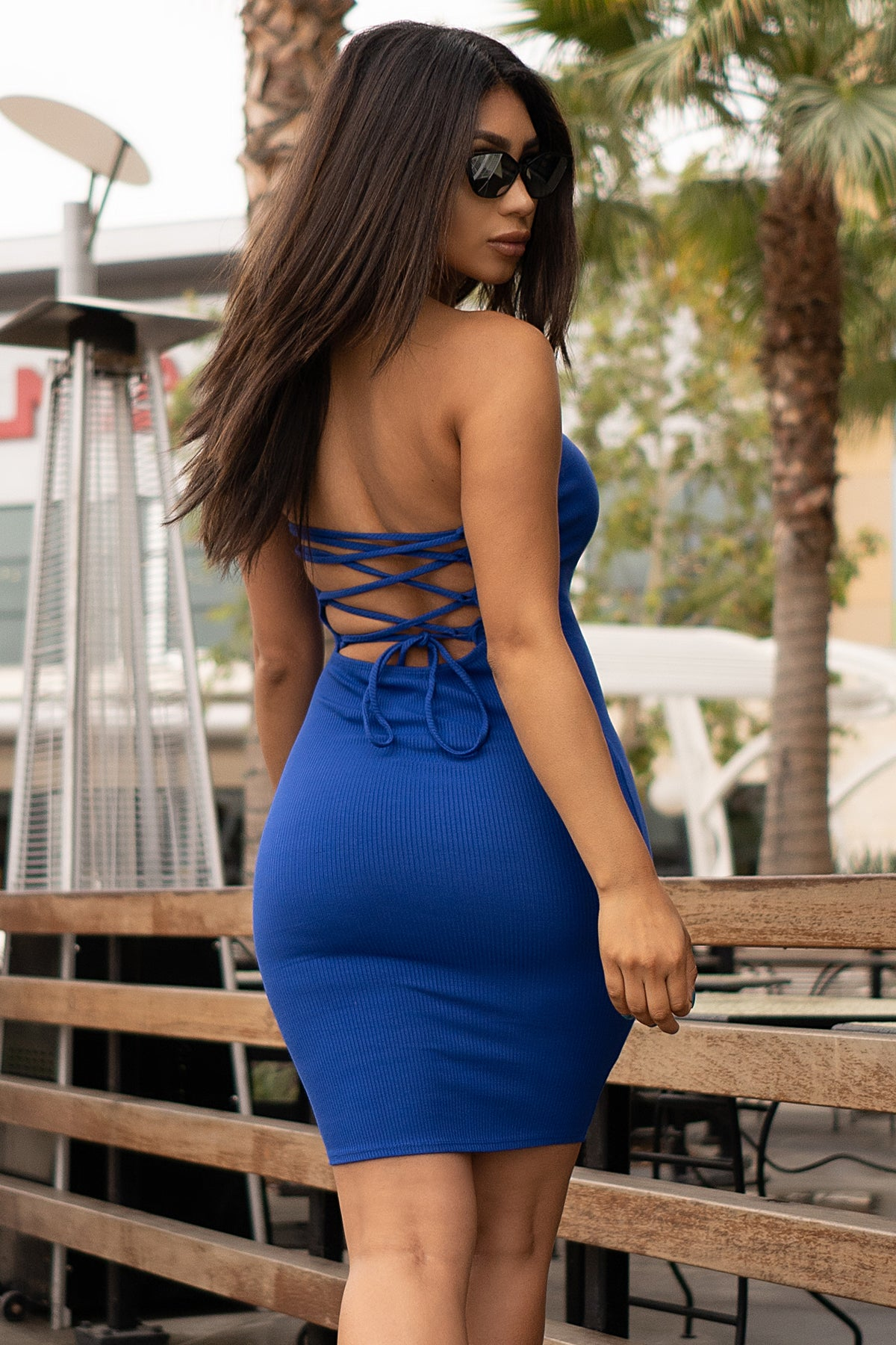 Melissa Dress- Royal Blue