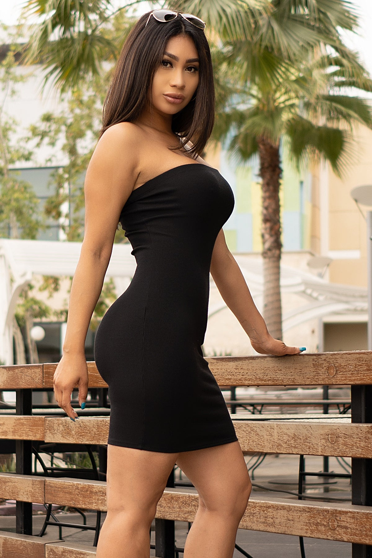 Vanessa Dress- Black